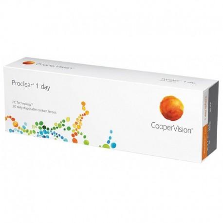 Proclear 1-Day Lentes de contacto diarias Coopervision