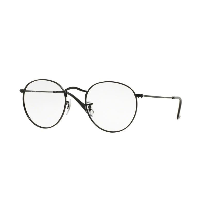 f15f003b91df3 ... ray ban rx3447v round metal eyeglasses 2730 gold