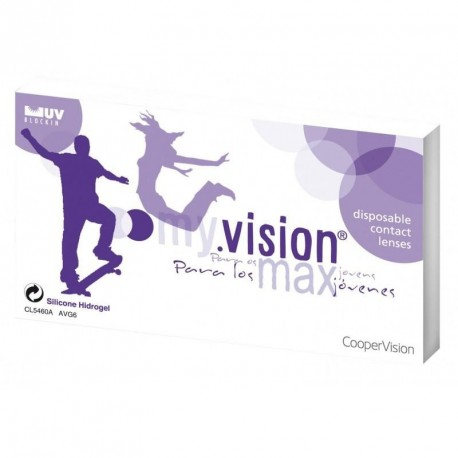 My. Vision Max Coopervision Lentes de contacto mensuales (6 uds)