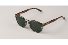 Mr. Boho EG10-11 CROSS BLUE/HC TORTOISE FITZROY WITH CLASSICAL LENSES