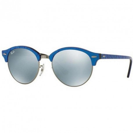 Ray-Ban TOP WRINKLED BLU ON BLACK RB4246-984/30